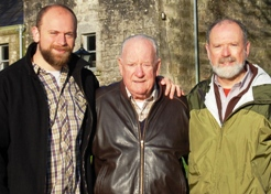 Ray McKenna with his father and son